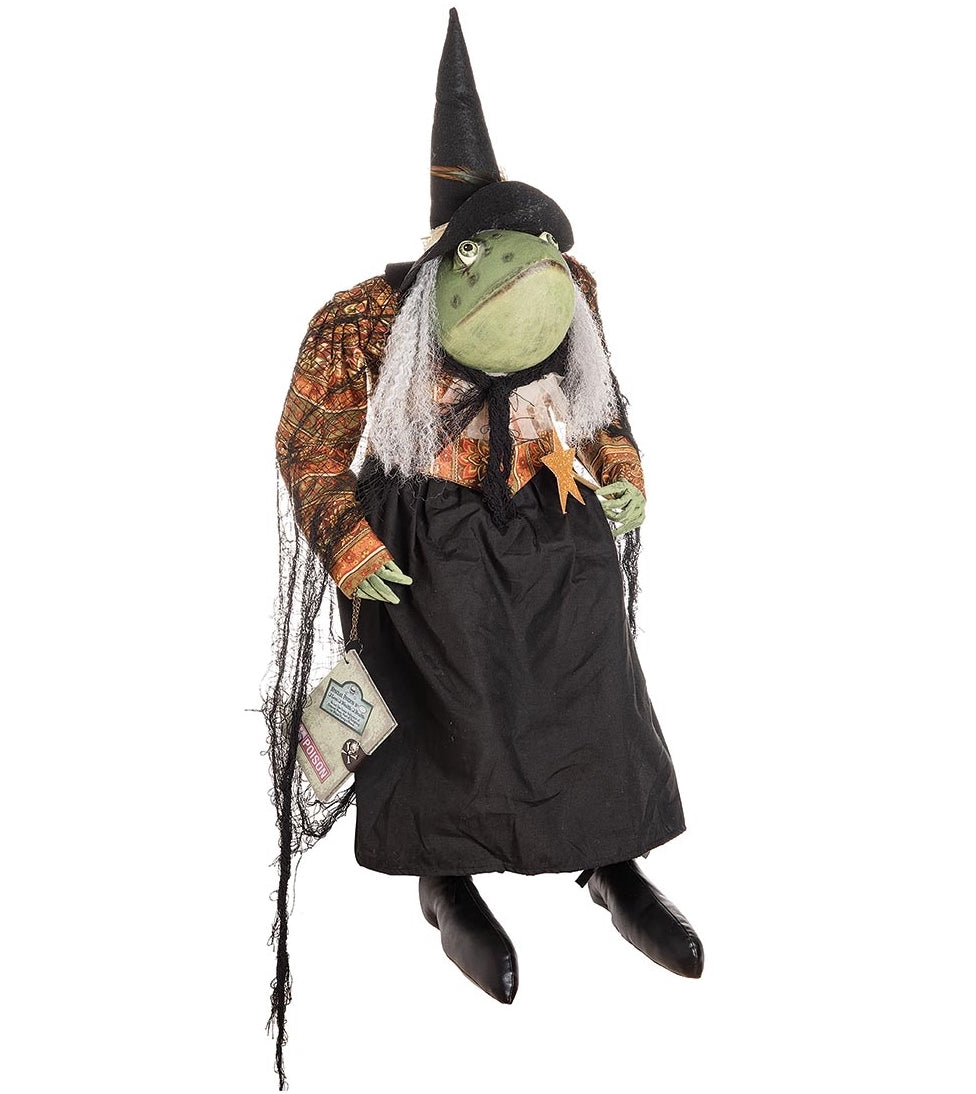 Joe Spencer Winifred Toad Witch Doll