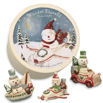 Winter Travels Boxed Ornaments