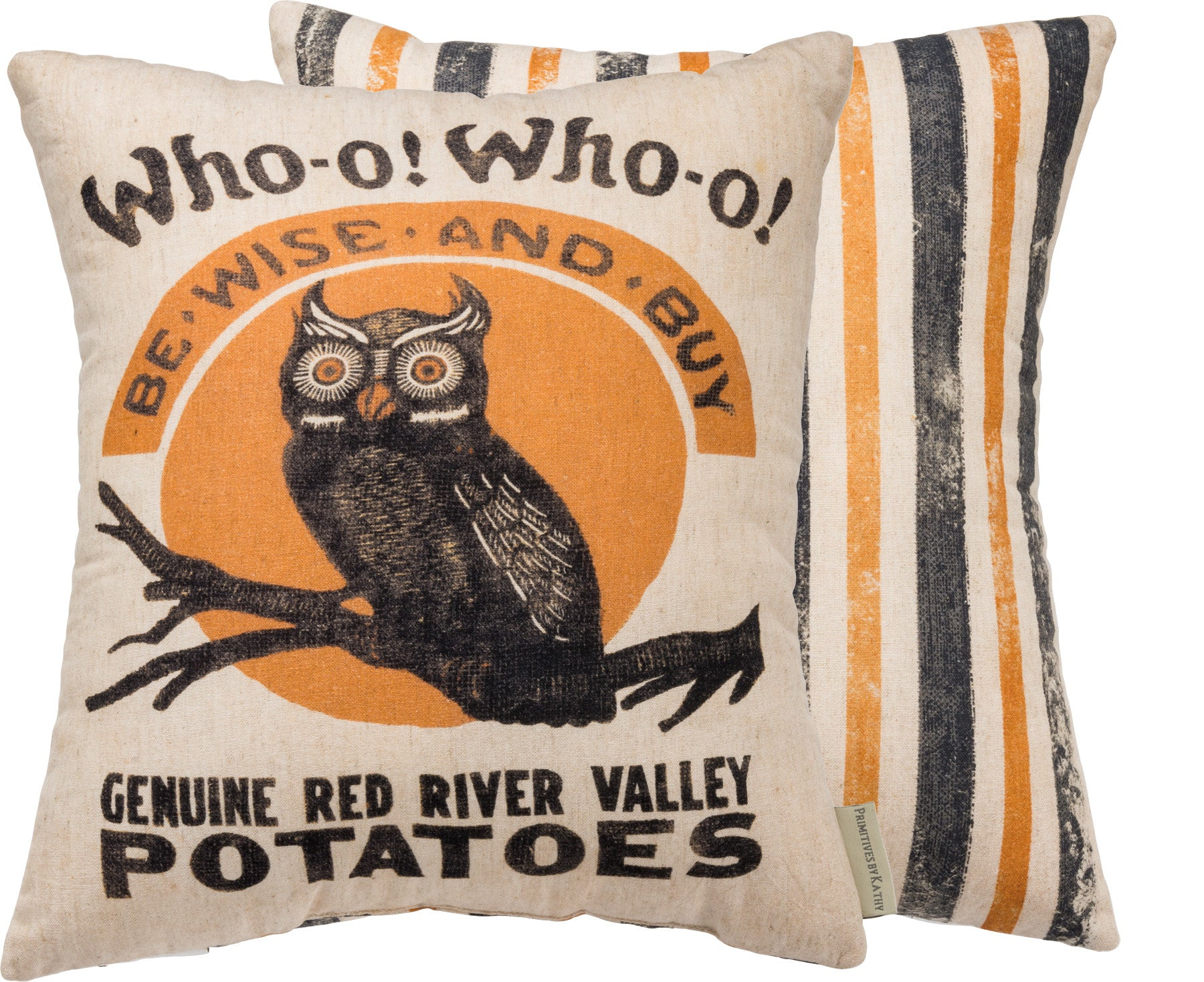 Wise Owl Potato Sack Pillow