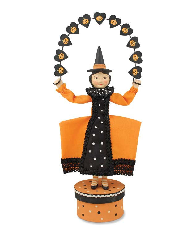 Witch Love Pumpkin Garland by Allen Cunningham