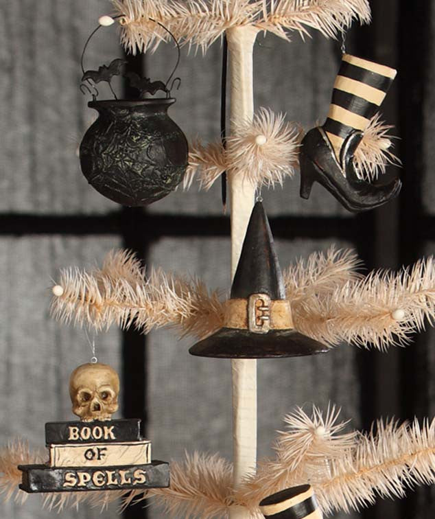 Witch's Brew Halloween Ornaments by Bethany Lowe