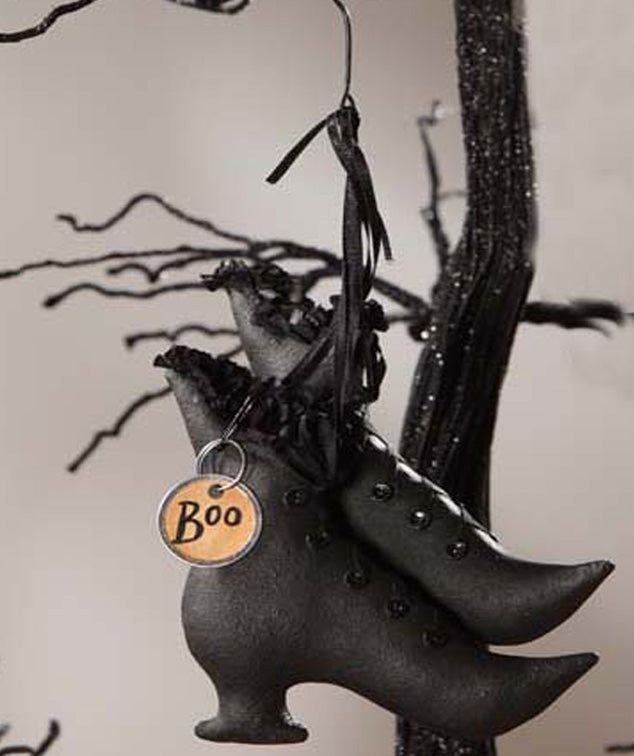 Witch's Boots Ornament