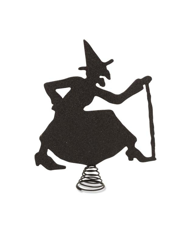 Witch Silhouette Tree Topper