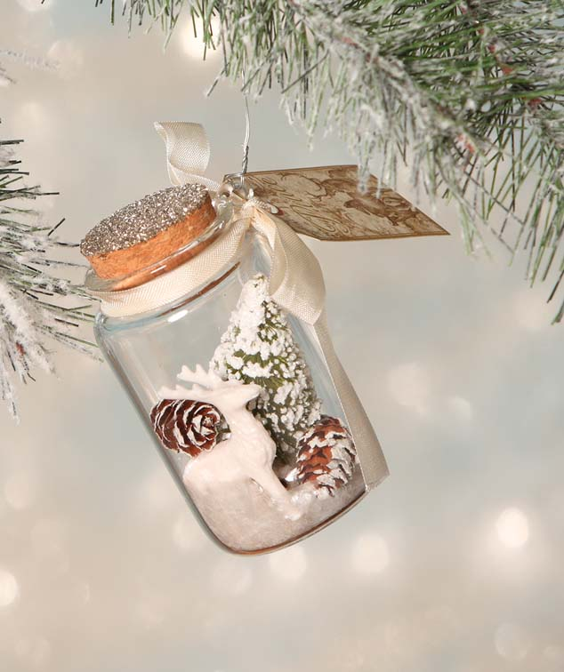 Woodland Jar Ornament by Bethany Lowe Christmas