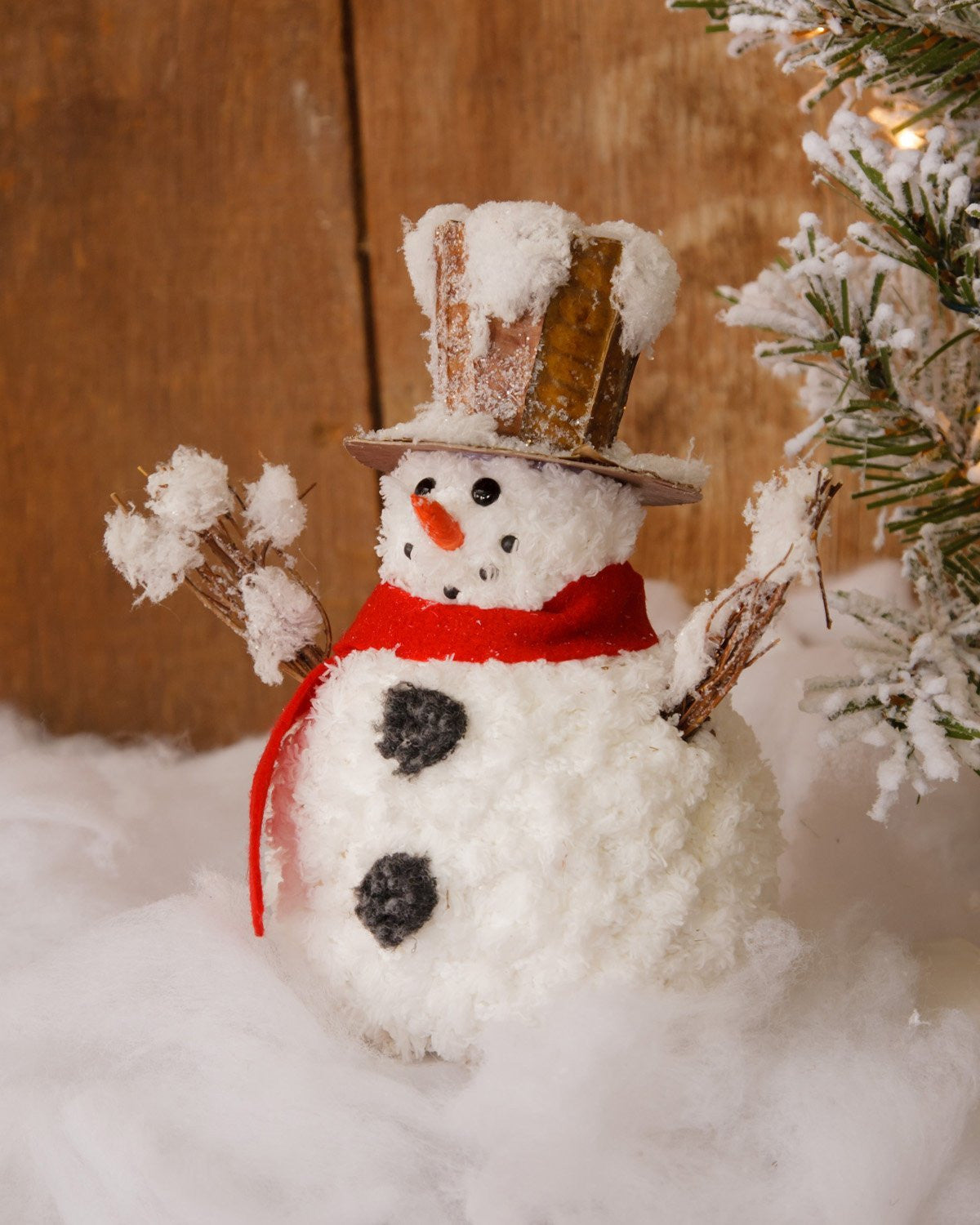 Woodland Snowman Christmas Decorations