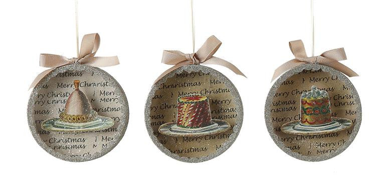Shadow Box Cake Ornaments