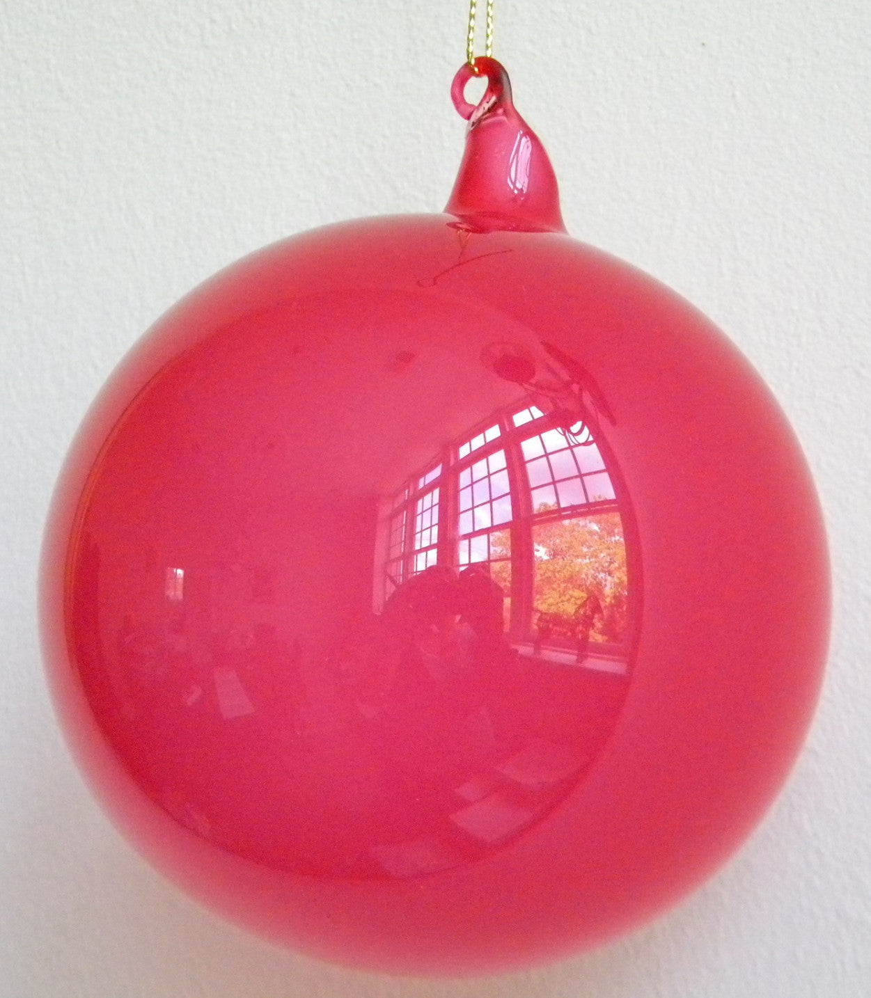 Jim Marvin Strawberry Pink Bubblegum Glass Ornaments