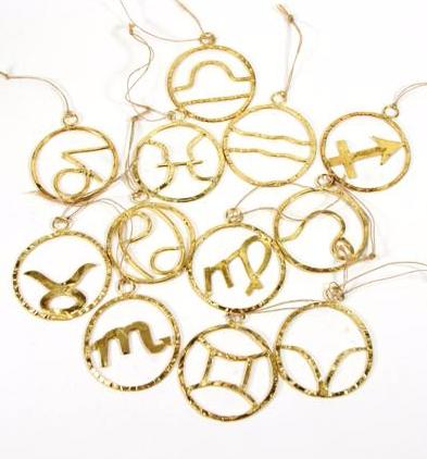 Zodiac Sign Ornaments
