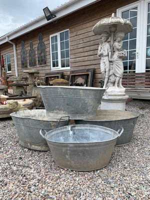 Reclaimed Tin Baths