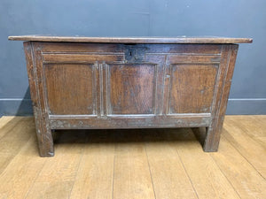 Georgian Oak Coffer