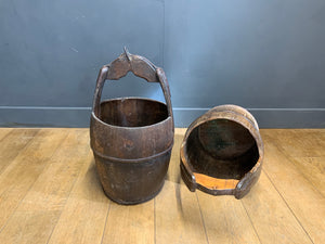 Antique Rice Bucket