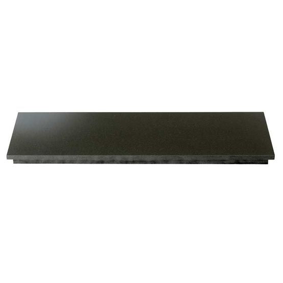 LARGE BLACK GRANITE HEARTH