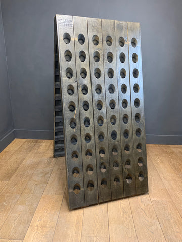 Vintage French Wine & Champagne Riddling Rack
