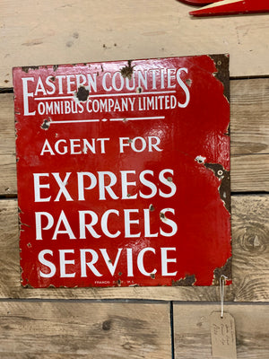 Eastern Counties Omnibus Company Limited Enamel Sign