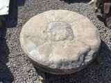 LARGE GRANITE MILLSTONE / WHEEL. 49 INCH