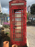 BRITISH K6 RED TELEPHONE BOX ORIGINAL