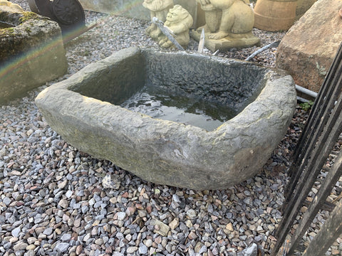 Antique Slate Trough