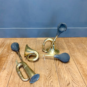 Vintage Brass Car Horns