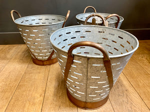 Oyster Bucket Planters