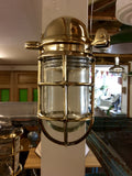 Brass Nautical Wall Mounted Lighting