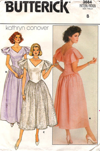 Butterick 3684 Misses'/Misses' Petite Dress - (8) - Smiths Depot Sewing Pattern Superstore