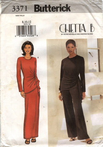 Butterick 3371 Misses' Top, Skirt & Pants - 8-10-12 - Smiths Depot Sewing Pattern Superstore