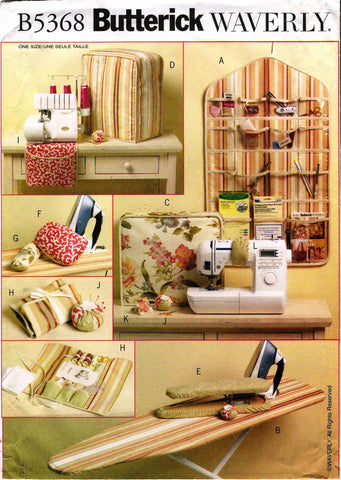 Butterick 5368 Sewing Room Essentials -  - Smiths Depot Sewing Pattern Superstore