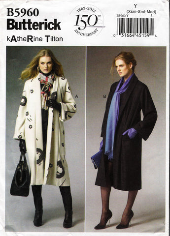 Butterick 5960 Misses' Coat -  - Smiths Depot Sewing Pattern Superstore