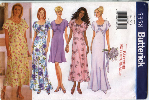Butterick 5358 Misses' Dress