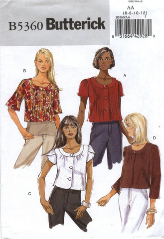 Butterick 5360 Misses' Jacket