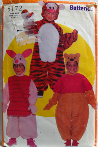 Butterick 5172 Child's Costume -  - Smiths Depot Sewing Pattern Superstore