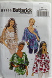 Butterick 5355 Misses' Top and Sash - L-XL-XXL - Smiths Depot Sewing Pattern Superstore  - 1