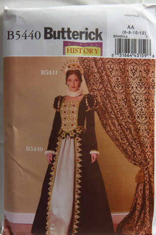 Butterick 5440 Misses' Costume - 6-8-10-12 - Smiths Depot Sewing Pattern Superstore  - 1