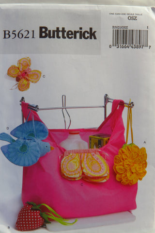 Butterick 5621 Market Shopping Bags and Pouches -  - Smiths Depot Sewing Pattern Superstore