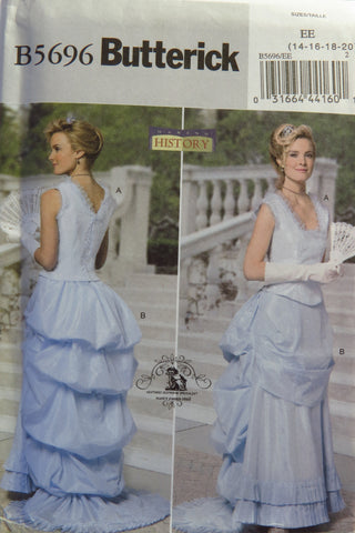 Butterick 5696 Misses' Costume - 14-16-18-20 - Smiths Depot Sewing Pattern Superstore  - 2