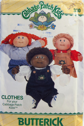 Butterick 0330 Cabbage Patch Kids™ Clothes -  - Smiths Depot Sewing Pattern Superstore