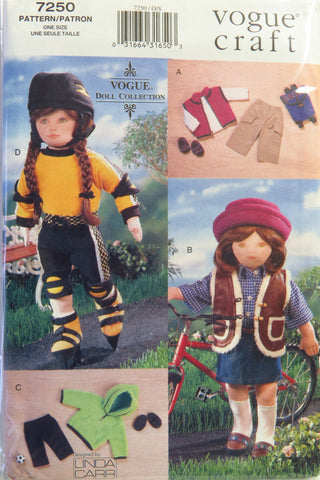 "Vogue 7250 18"" Fashion Doll Clothes -  - Smiths Depot Sewing Pattern Superstore"
