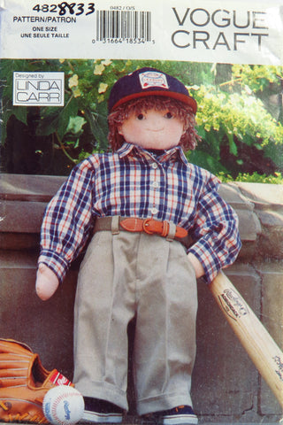 "Vogue 0482 Little Friend Doll 27"" -  - Smiths Depot Sewing Pattern Superstore"