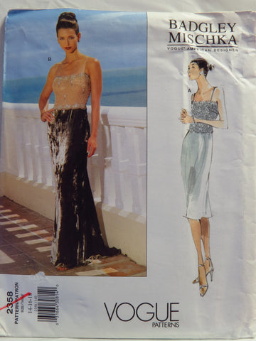 Vogue 2358 Misses' Dress - 14-16-18 - Smiths Depot Sewing Pattern Superstore