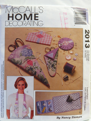 McCall's 2013 Sewing Accessories -  - Smiths Depot Sewing Pattern Superstore