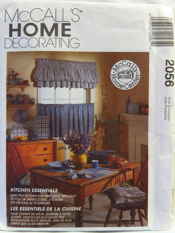 McCall's 2056 Kitchen Essentials -  - Smiths Depot Sewing Pattern Superstore