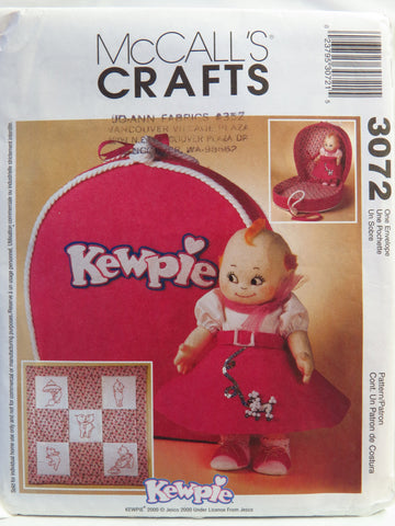 McCall's 3072 Kewpie® Doll Clothes and Accessories -  - Smiths Depot Sewing Pattern Superstore