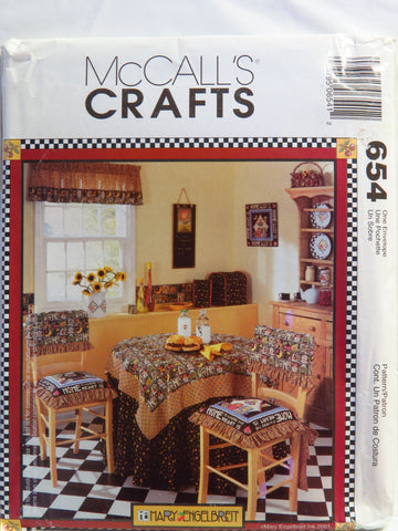 McCall's 0654 Home is Where the Heart is Kitchen Accessories -  - Smiths Depot Sewing Pattern Superstore