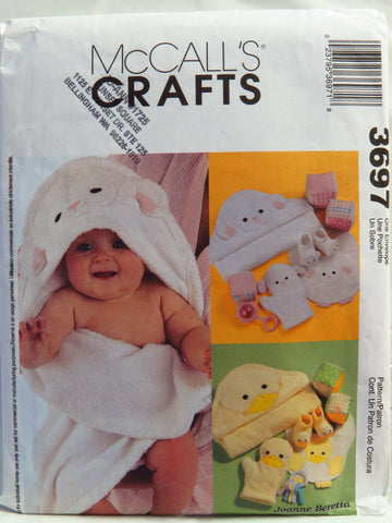 McCall's 3697 Baby's Necessities -  - Smiths Depot Sewing Pattern Superstore
