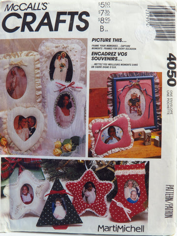McCall's 4050 Picture This Picture Frames -  - Smiths Depot Sewing Pattern Superstore