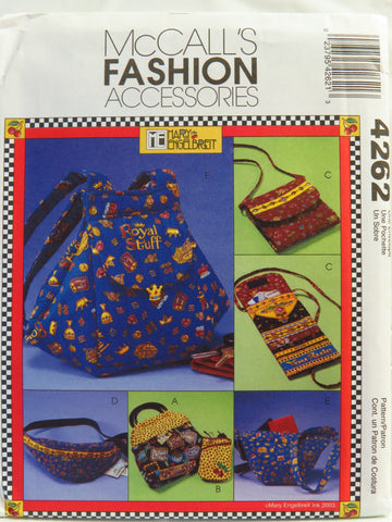 McCall's 4262 Bags and Accessories -  - Smiths Depot Sewing Pattern Superstore