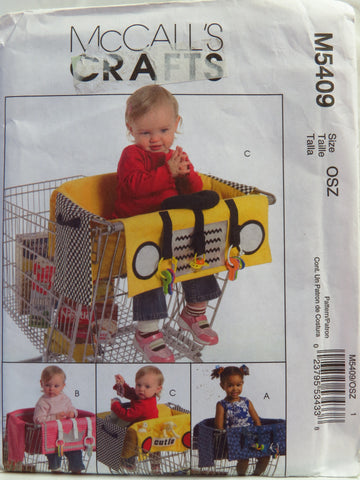McCall's 5409 Shopping Cart Liners -  - Smiths Depot Sewing Pattern Superstore