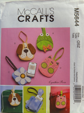 McCall's 5644 Cell Phone Case -  - Smiths Depot Sewing Pattern Superstore
