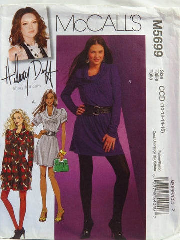 McCall's 5699 Misses' Dresses - CCD (10-12-14-16) - Smiths Depot Sewing Pattern Superstore