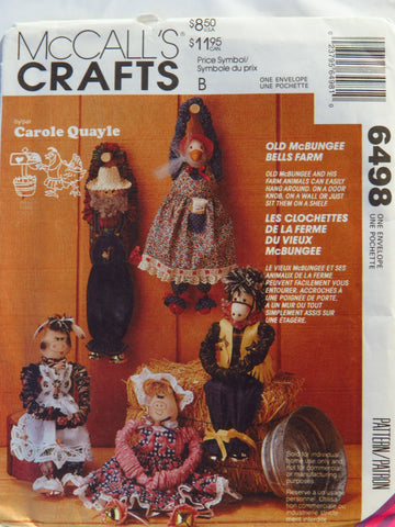 McCall's 6498 Old McBungee Bells Farm -  - Smiths Depot Sewing Pattern Superstore
